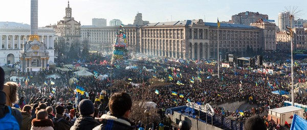Ukraine's EuroMaidan protest. Photo by Alexandra (Nessa) Gnatoush - ccby / Flickr